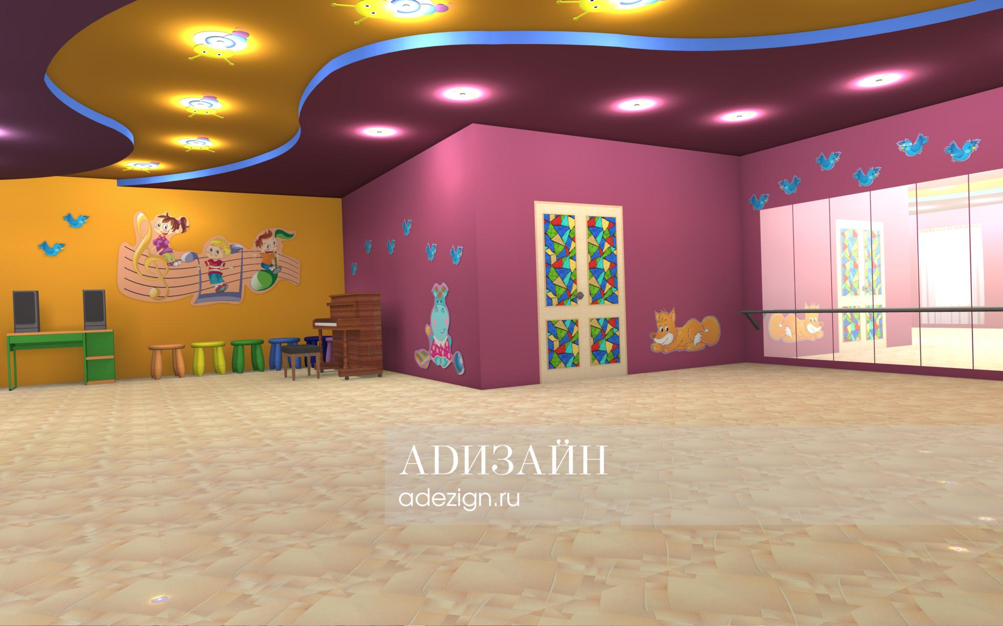 Детский сад «Радуга». Музыкальный зал