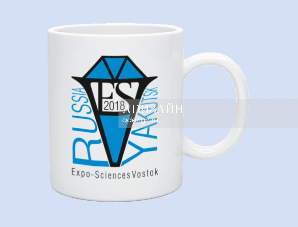 Сувенирная кружка с логотипом ESV