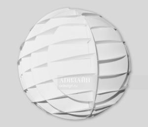 Структура объемной формы. Формирование шара.